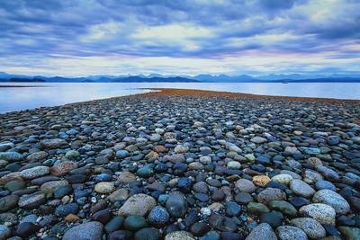 Rocks at Rebecca Spit